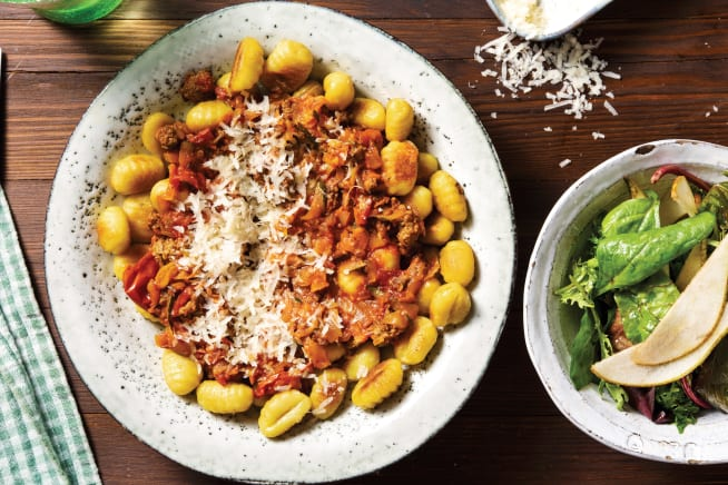 Quick Meals - Italian Beef & Gnocchi Bolognese
