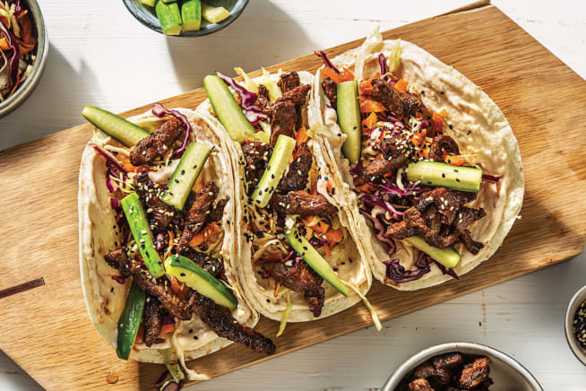 Quick Meals - Japanese Beef Tacos