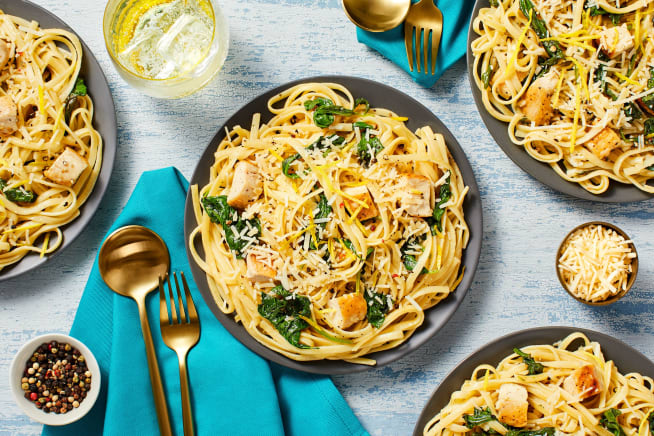 Quick meals - Lemon Pepper Chicken Linguine