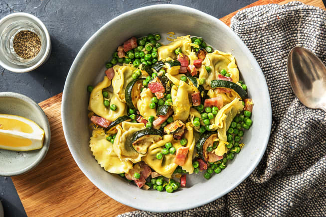 Lemony Cheese Tortelloni