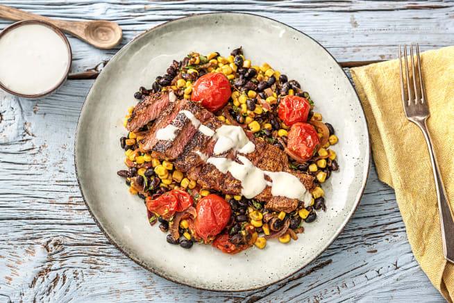 Louisianna Spiced Steak