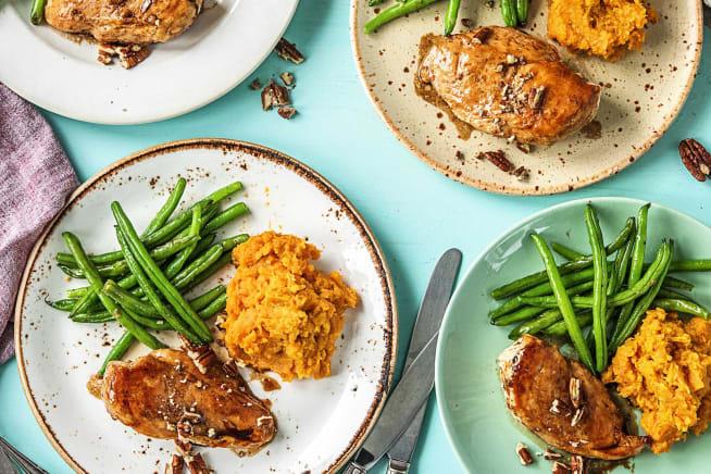 Family Friendly - Maple-Glazed Chicken