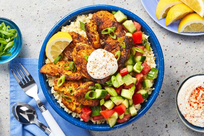 Quick meals - Mediterranean Chicken Bowls