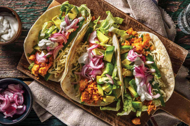 Quick Meals - Mexican Smashed Chickpea Tacos