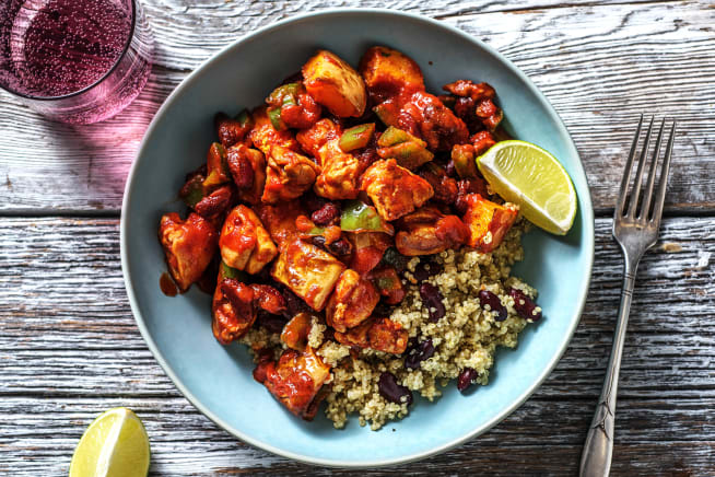 Mexican Style Chicken Chilli
