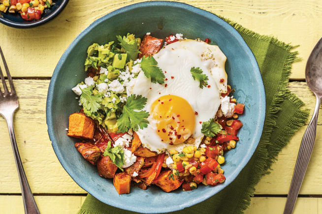 Mexican Sweet Potato Bowl