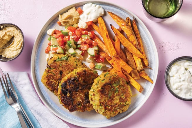 Quick Meals - Middle Eastern Chickpea Patties