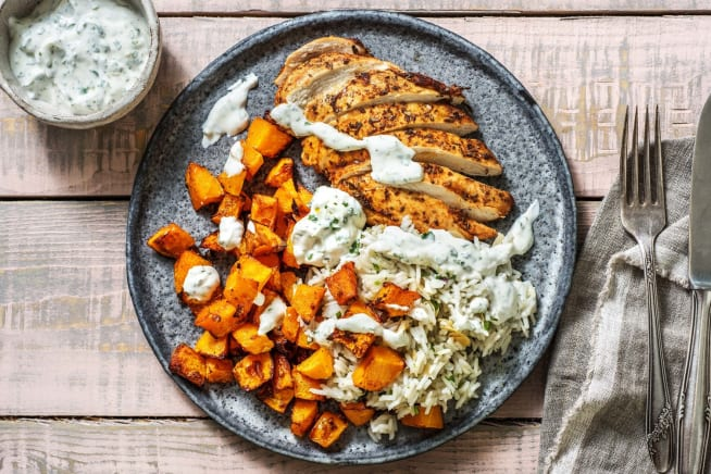 Global Flavours - Middle Eastern Spiced Chicken