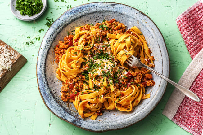 Quick meals - Mighty Meatless Bolognese