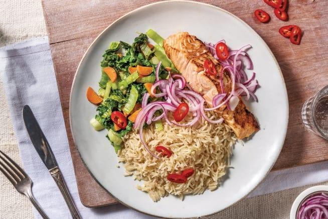 Quick Meals - Miso-Glazed Salmon