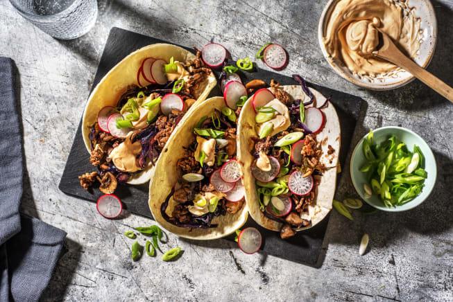 Moo Shu Pork Tacos