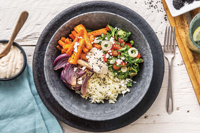 Moroccan Rice Bowl