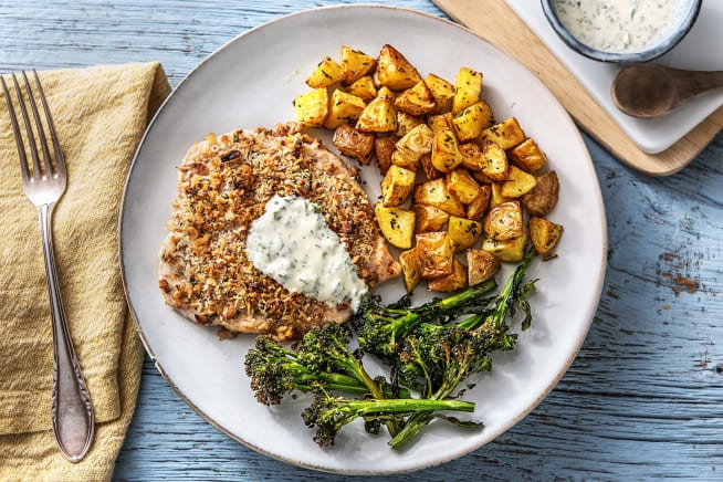 Nutty Crusted Chicken