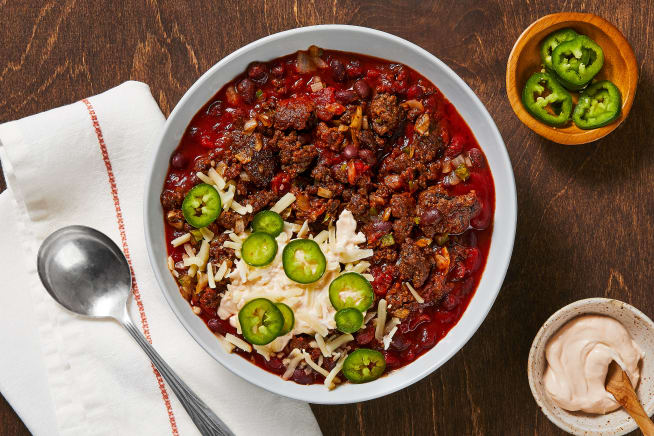 Hall Of Fame - One-Pot Beef and Black Bean Chili