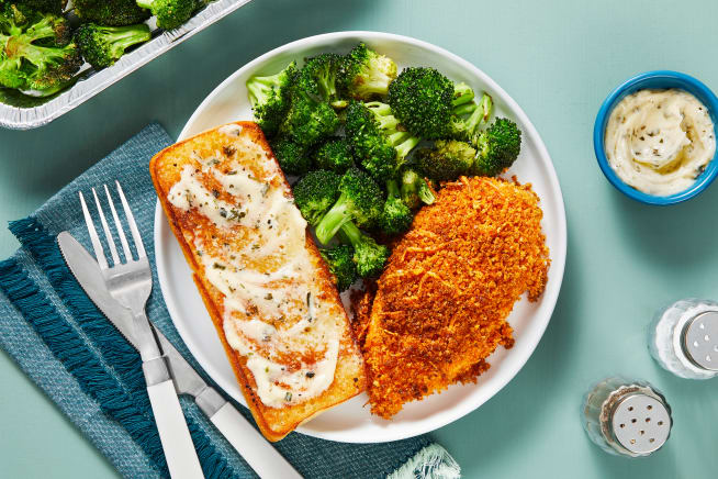 Quick meals - Oven-Baked Parmesan Chicken