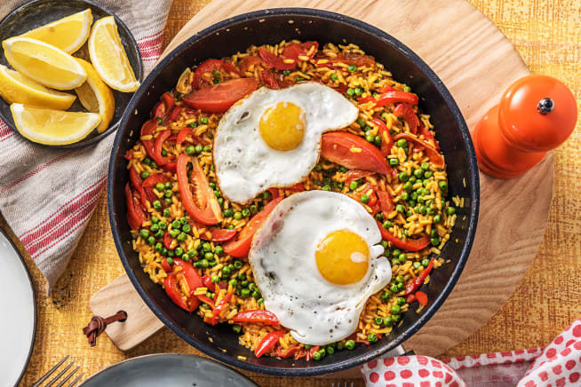 Paella Con Huevos