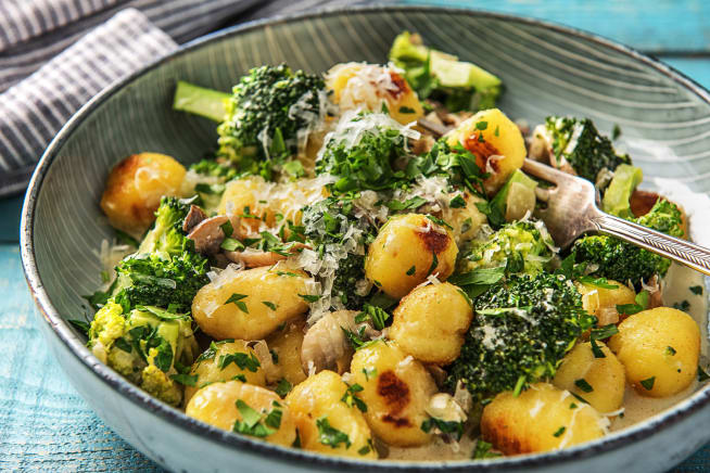 Pan-Fried Gnocchi