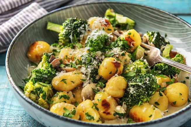 Vegetarian Recipes - Pan-Fried Gnocchi