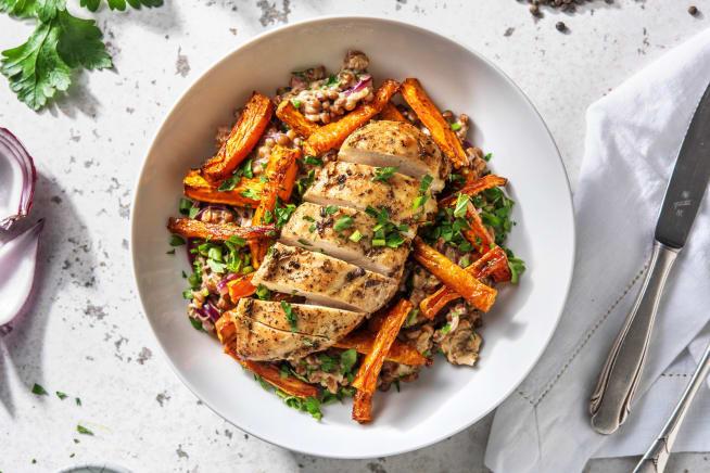 Low Calorie Meals - Parisenne Spiced Chicken