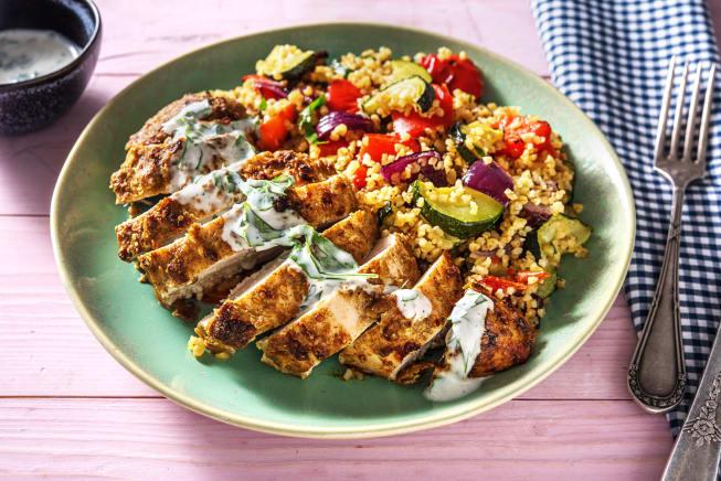 Yogurt and Dukkah-Crusted Chicken