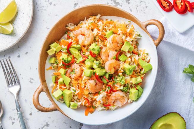 Quick Meals - Prawn and Avocado