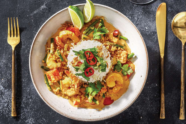 Prawn Thai Red Curry