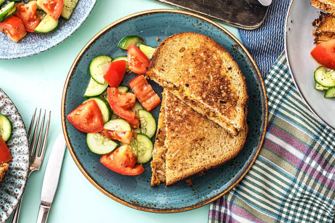 Quick meals - Pulled Pork Grilled Cheese Sandwiches