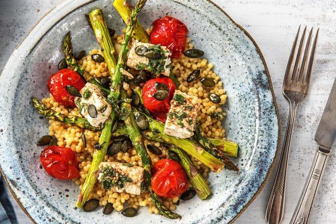 Asparagus and Tomato Roast