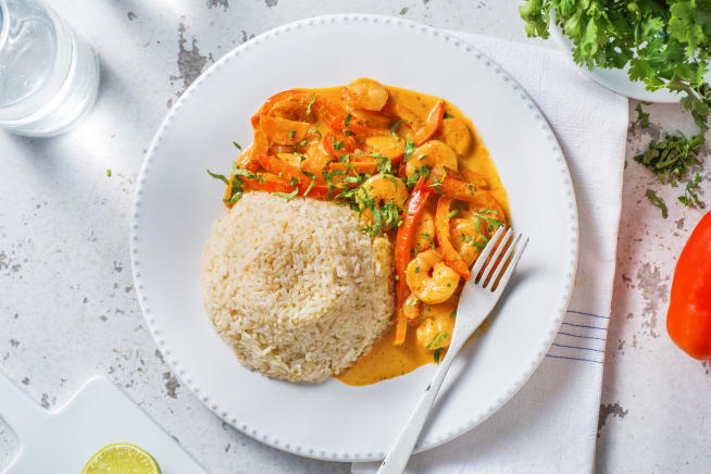 Quick Meals - Red Thai-Style Prawn Curry