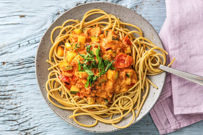 Discovery - Romige spaghetti integrale met makreel