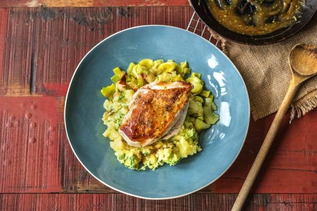 Rosemary Glazed Chicken