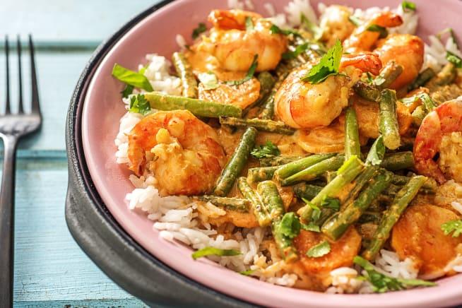 Quick - Rotes Thai Crevetten-Curry
