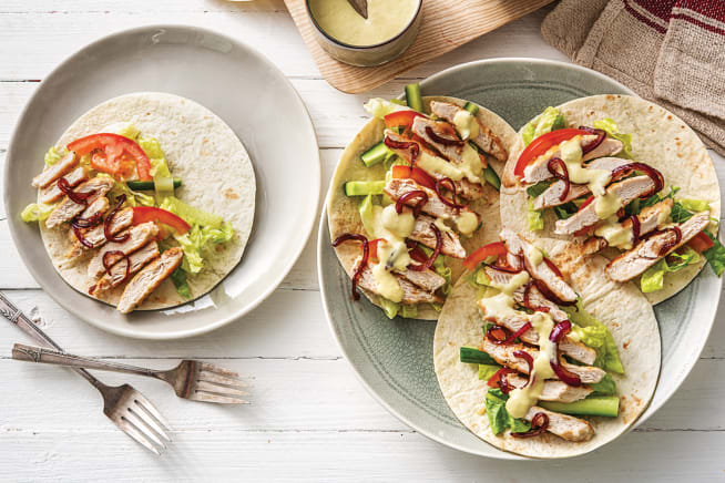 Rustic Italian Chicken Tacos