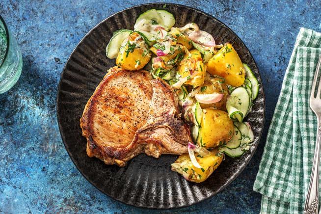 Schnelle Gerichte - Saftiges Schweinskotelett
