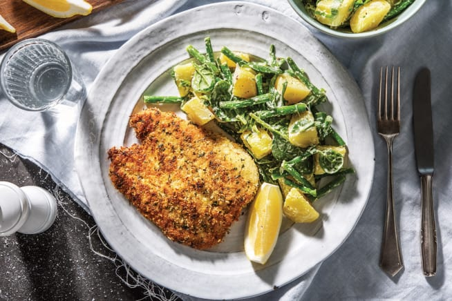Quick Meals - Sage & Rosemary Crumbed Chicken