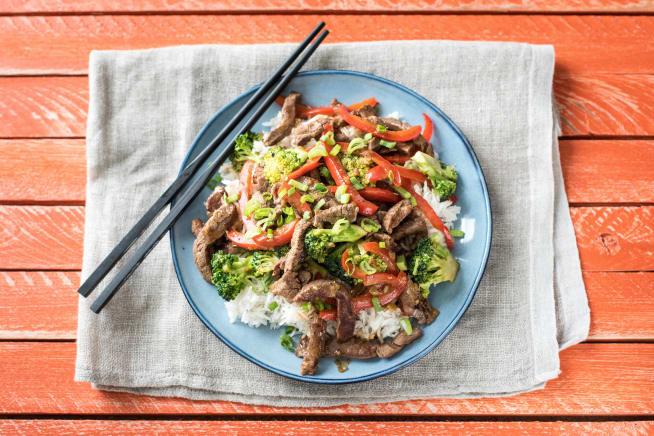 Saucy Mongolian Beef