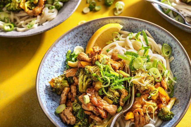 Quick Dinner Ideas - Lemon-Pepper Pork Stir Fry