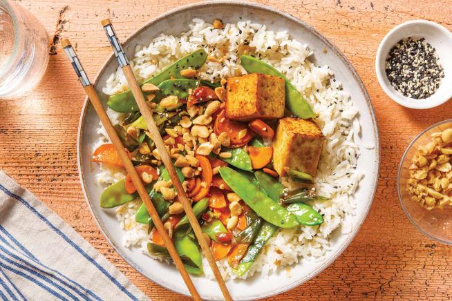 Quick Meals - Sesame Chinese Tofu