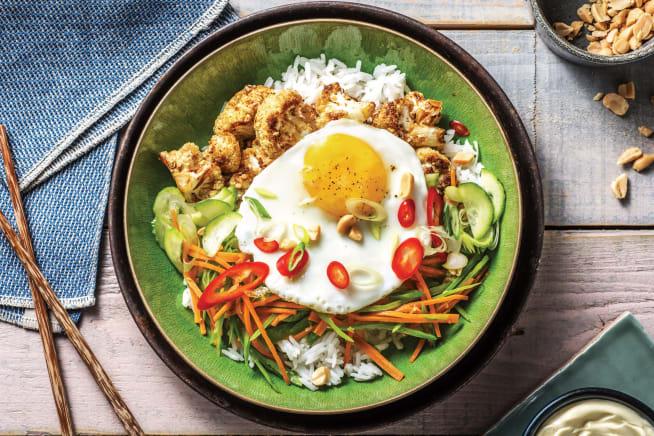 Quick Meals - Sesame-Soy Cauliflower Bowl