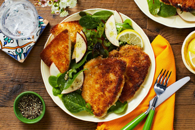 Shake It Up! Pork Cutlets