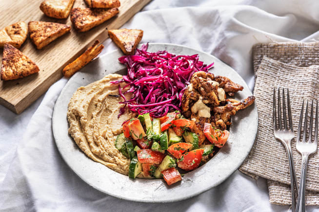 Quick Dinner Ideas - Chicken Shawarma Plate