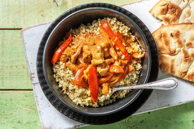 Recettes rapides - Curry de poulet express