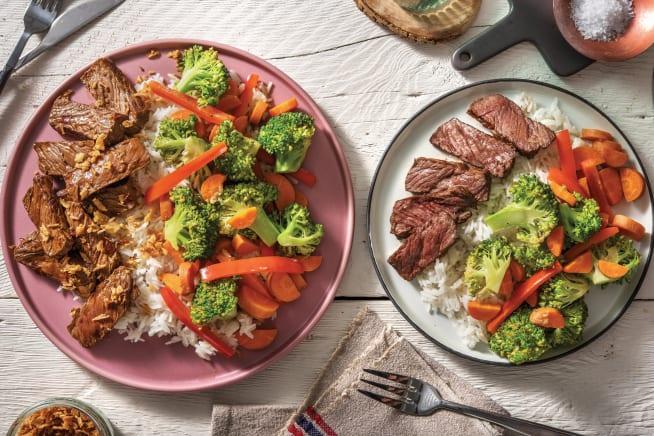 Quick Meals - Soy & Sichuan Steak