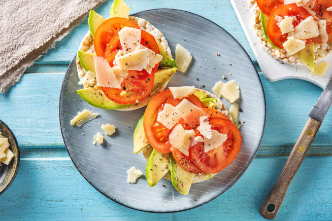 Snelle gerechten - Speltwafels met avocado