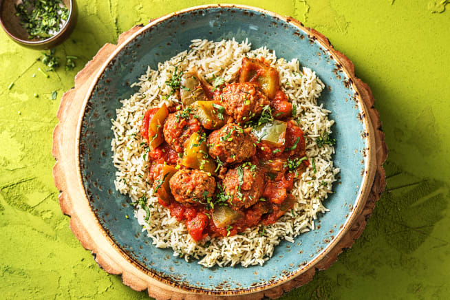 Quick Meals - Spiced Lamb Meatball Stew