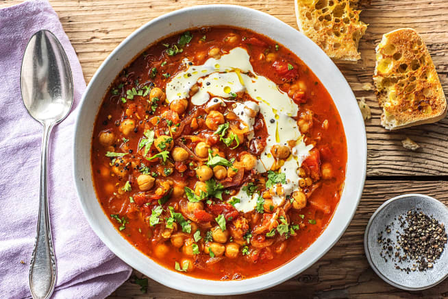 Spiced Moroccan Soup (v)