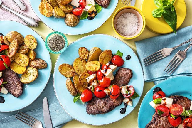 Quick meals - Steak Caprese