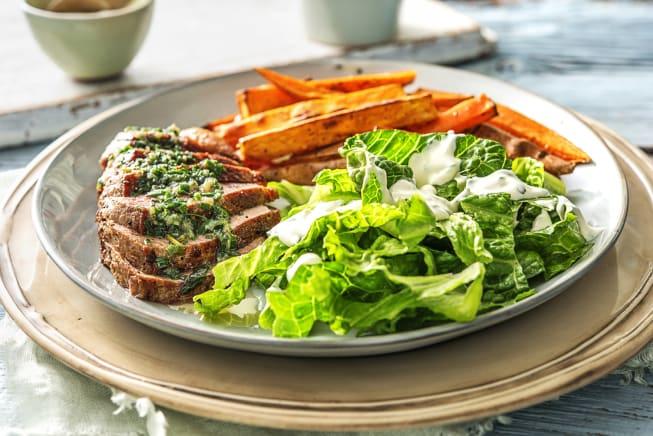 Herb-Butter Steak