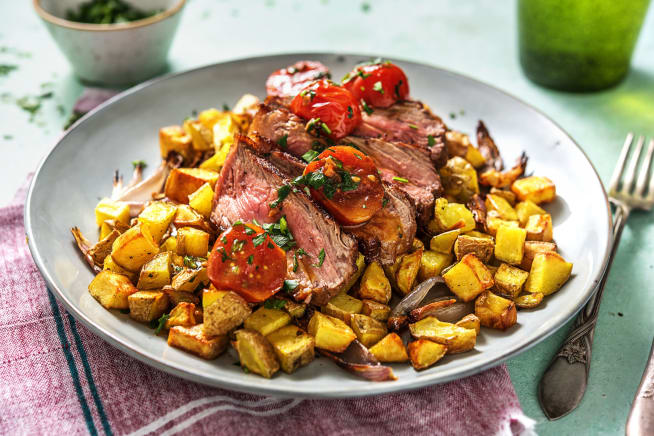 Quick Dinner Ideas - Pan-Seared Steak