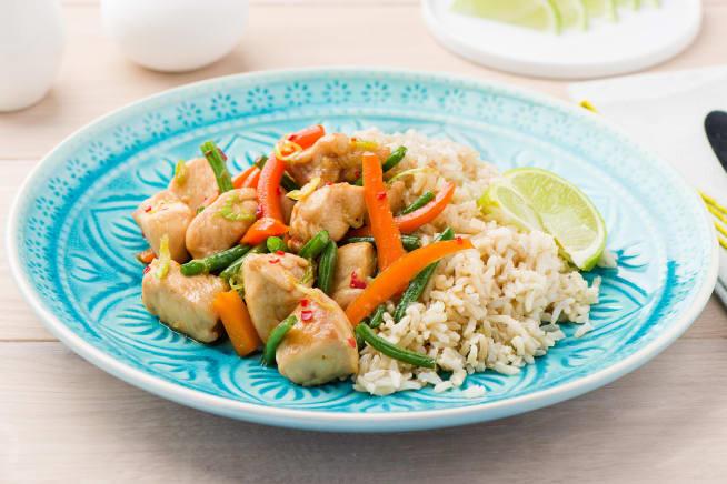 Sticky Chinese Chicken Stir-Fry